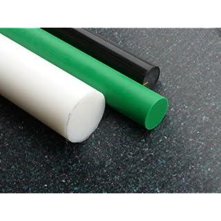 Rundstab aus PE-HD schwarz Ø 25 mm, Lang 1000 mm Kunststoffrundstab alt-intech®