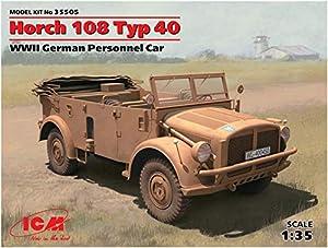 ICM 35505 - 1/35 Horch 108 Tipo 40 vehículos