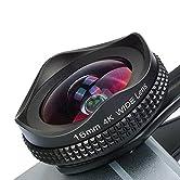 Warum man sich für die Apexel 16mm Weitwinkel-Kamera-Handy-Objektiv entscheiden sollte 1.Hohe Auflösung: der Bemessungswert beträgt 20 Millionen Pixel, welches alle Handy-Kamera verwenden können 2.Hohe Individualität: Kompatibel mit dem vorhandenen m...
