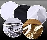 Ja Foto Gruppe 106,7cm Playstation Reflektor, weiß/silber/durchscheinend/gold/sunlight (gs-51r42)