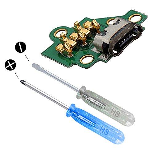 MMOBIEL Connettore Porta di Ricarica Dock USB Compatibile con Motorola Moto G3 3a Gen incl cacciavit
