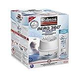 Rubson AÉRO 360° Absorbeur d'Humidité spécial Salle de Bain, Déshumidificateur anti-odeur, Absorbeur anti-humidité & condensation, 1 appareil + 1 recharge de 450 g...