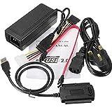 USB auf Sata Adapter Daten-Stromwandler Festplatten-Kit Kabel Zubehör USB auf IDE/SATA 3 in 1 UK Plug