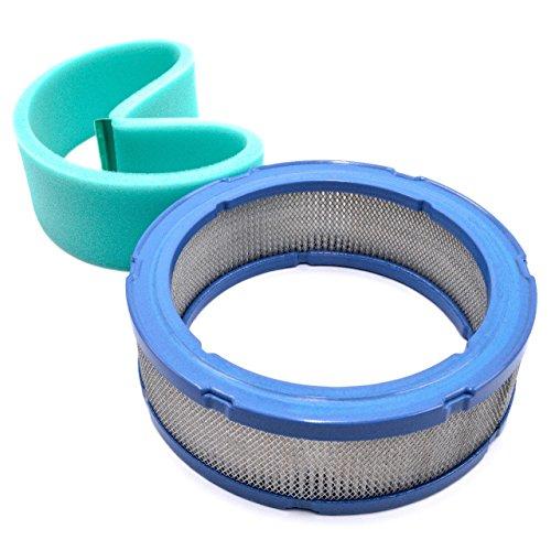 Luft Ersatz-vorfilter (vhbw 2x Ersatz-Filter Vor-Filter Luft-filter für Rasenmäher John Deere 1800, 2243, 2500, 2653, 285, 320, 345, 425, 445, F 725, GX 345, LX 279)