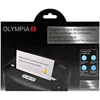 Olympia 9130 12pc(s) Lubricating oil paper shredder accessory - Paper Shredder Accessories (12 pc(s), 240 mm, 5 mm, 163 mm, 160 g) -  Confronta prezzi e modelli