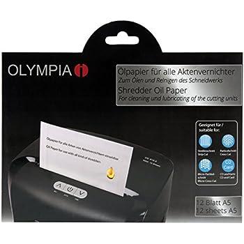 B-Ware Aktenvernichter MC 615.2 Olympia Partikelschnitt 2 x 15 mm 30L Behälter