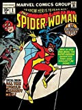 Marvel Comics - Spider-Woman First Question -prêt Encadré Toile - 60 X 80 X 3.8cm (24 X 32 X 1.5 Pouces) - avec Supports et Rédacteurs Corde
