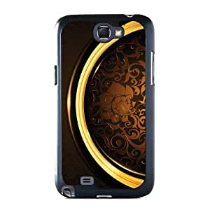 Golden Flower Case for Samsung Galaxy Note 2