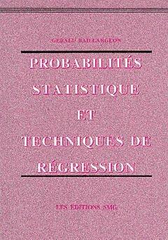 Probabilités statistique et techniques de régression