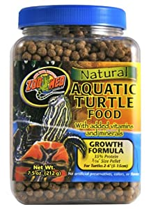 Zoo Med Aquatic Turtle Food Growth Formaula 212 Grams