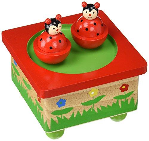 New Classic Toys - 9381 - Boîte À Musique - Coccinelles Ulysse