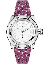 Glam Rock summerTime Damen-Armbanduhr 40mm Armband Leder Rosa Gehäuse Edelstahl Schweizer Quarz GR40420