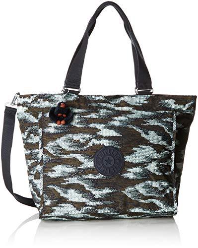 Kipling New Shopper L - Borse Tote Donna, Multicolore (Dynamic Dots)