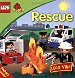 Rescue [With Sticker(s)] (Lego Duplo) by Laaren Brown (20-Apr-2009) Paperback