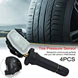 FGHGFCFFGH Durable New 4 Piece Tire Pressure Monitor System Sensor for Ford 1862980 2036832 Intake Durable Module Weighing Sensor