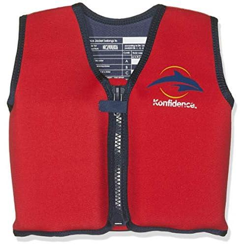 51NZpV48BJL. SS500  - Konfidence The Original Jacket - Children's Swim Jacket