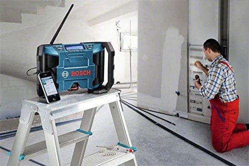 Bosch-Set: Akkuschrauber GSR 10,8-2-Li Prof. + Akku-Radio GML 10,8 V-Li - 7