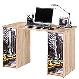 simmob scout122cn503Scout Büro mit 2Boxen Holz 65x 120x 74cm