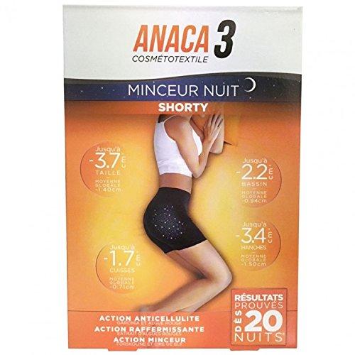 Anaca 3 minceur nuit shorty taille L à XL