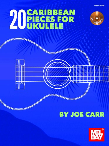 20-caribbean-pieces-for-ukulele-buch-cd