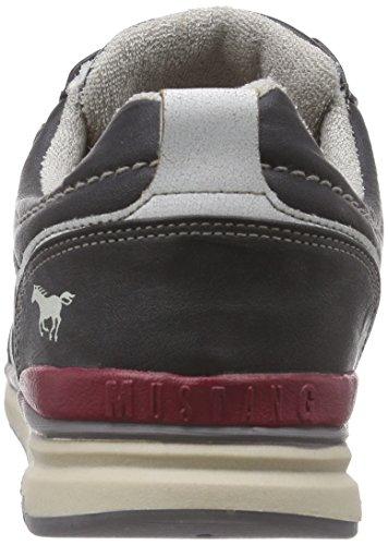 Mustang Schnürhalbschuh, Baskets Basses Homme Gris (200 Stein)
