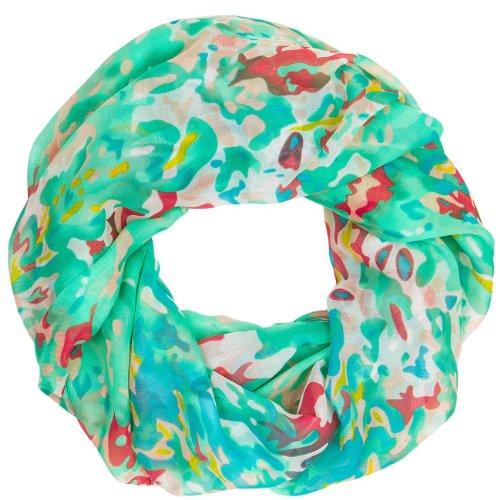 CASPAR - Écharpe tube pour femme - Foulard - Châle motif camouflage - plusieurs coloris - SC379