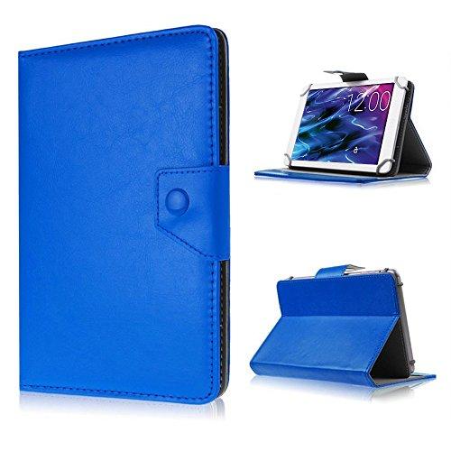 UC-Express Tablet Tasche für Medion Lifetab P8514 P8314 P8312 P8311 S8312 S8311 Hülle Case, Farben:Blau