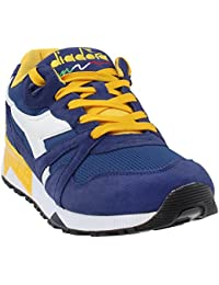 Diadora Men's N9000 III Running Shoe (9 D (M) US, Estate Blue/Daffodil)