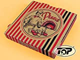 TOP Marques Collectibles 'Caja 100 Pizza Pizza Cajas Marrón NYC New York 4,2 cm de Altura pizzero Varios Tamaños Disponibles, 36x36x4.2cm