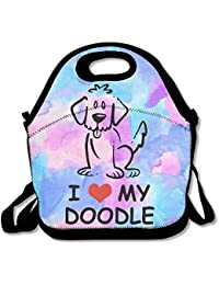 I Love My - Goldendoodle Lunch Bag Lunch Tote