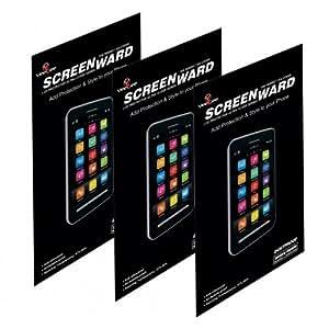 LG G2 (D802) Screen protector, Scratch Guard, Screenward (Pack of 3) Screen Protector Scratch Guard For LG G2 (D802)