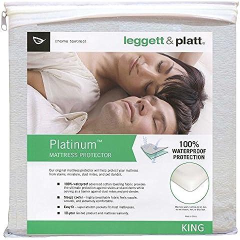 Leggett & Platt casa qd0181Platinum Proteggi materasso, King