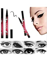 Ularma Black Eyeliner Waterproof Liquid Make Up Beauty Comestics Eye Liner Pencil Pen