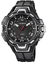 Calypso Watches Herrenarmbanduhr Analoguhr mit Leuchtzeigern K5687/8