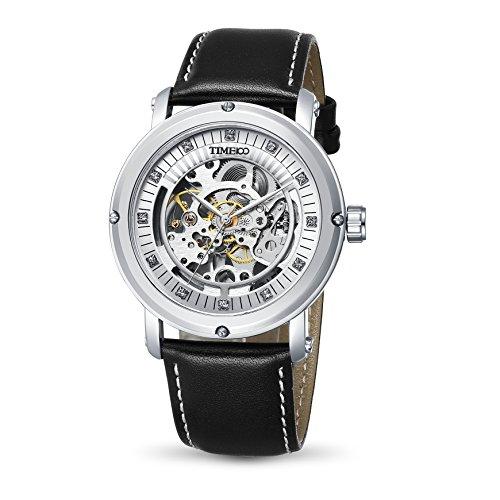 time100-classice-da-uomo-skeleton-hollow-out-colore-bianco-trasparente-da-meccanico-stile-casual-con