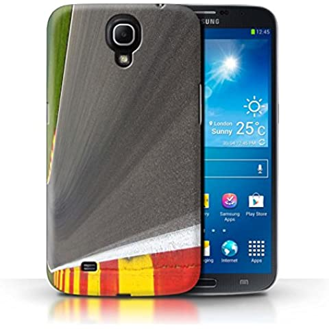 Carcasa/Funda STUFF4 dura para el Samsung Galaxy Mega 6.3 / serie: Pista Carreras Foto - Asfalto/Tarmac