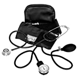 Best Blood Pressure Cuff And Stethoscope Kits - Compact Blood Pressure Kit with Dual Head Stethoscope Review