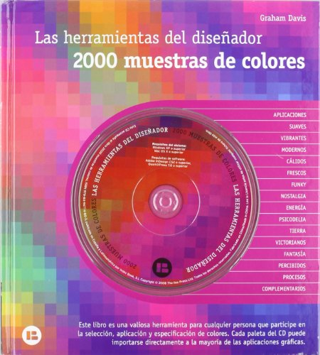 2000 muestras de colores : las herramientas del diseñador por Graham Davis
