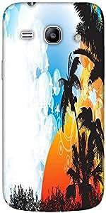 Snoogg Tropical Design Designer Protective Back Case Cover For Samsung Galaxy...