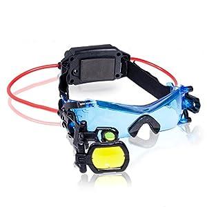 Spy Gear - Gafas de visión nocturna, color negro (Bizak 61920400) de Bizak