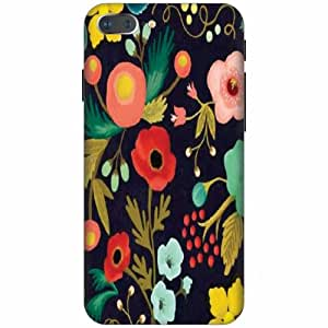 Printland Printed Hard Plastic Back Cover for Apple iPhone 7 Plus -Multicolor