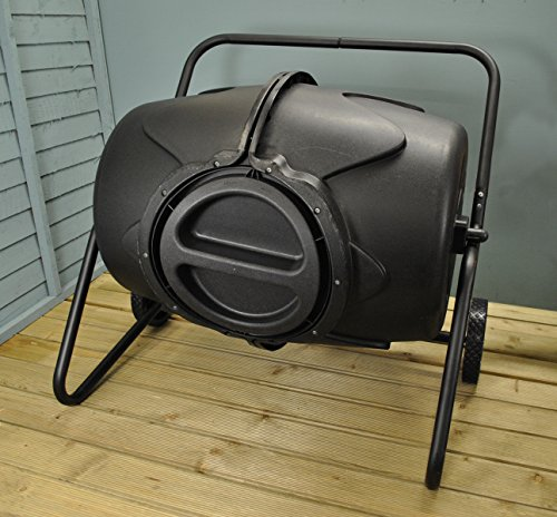 After a thorough comparison of compost bins in the market, the 190 Litre Heavy Duty Garden Tumbling Composter proved to be a step ahead of the other composters we've reviewed here. The greatest advantage over the rest is its mobility.