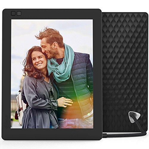 Nixplay Seed 25 cm (10 Zoll) Digitaler Bilderrahmen mit WLAN und Bewegungssensor, Fernbedienung - Schwarz Iphone Bilderrahmen