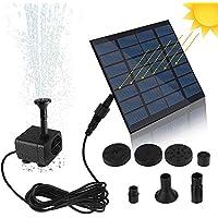 Galapara - Bomba solar para estanque (mini bomba de agua solar, panel solar)