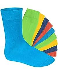 10 Paar original EVERYDAY! Socken von footstar für Sie und Ihn - Viele trendige Farben und Größen 35-50 wählbar! - Qualität von celodoro