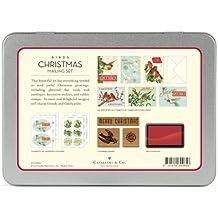 Cavallini - Juego de correo - de pájaros - tarjetas, sellos, pegatinas y almohadilla de tinta (CHRBRD)