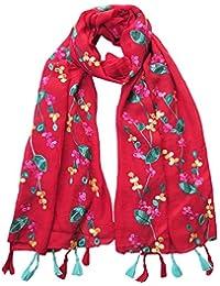686fe098d47 Amazon.fr   Pompons - Echarpes et foulards   Accessoires   Vêtements