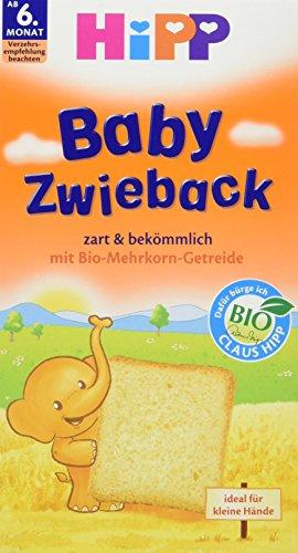 Hipp Baby Zwieback, 6er Pack (6 x 100 g)