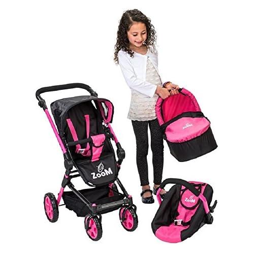 Baby Doll 3 in 1 Stroller Pram Pushchair 51Na23CHcrL