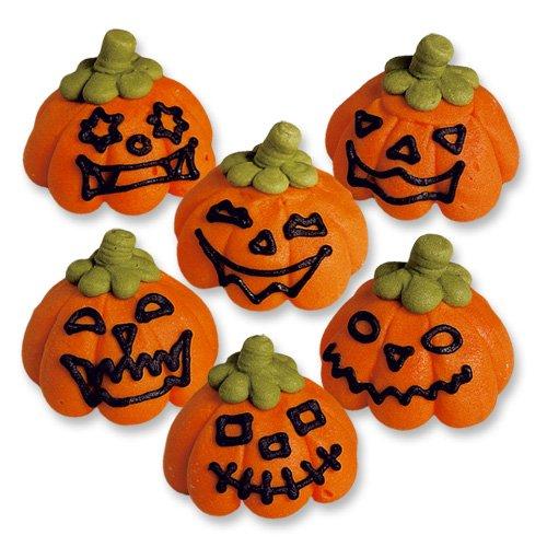 6 Halloween Kürbisse aus (Für Ideen Deko Cupcake Halloween)